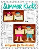 Summer Kids {a Craftivity}