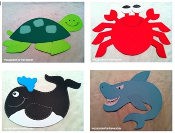under the sea {craftivities & printables}