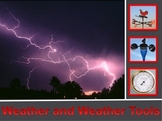 Weather and Weather Tools Power Point lesson and Interacti