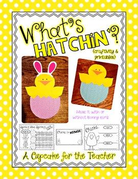 what's hatchin'? {craftivity & printables}
