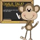 chalk talk speech therapy