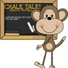chalk talk speech therapy