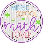 Middle School Math Lover