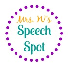 Mrs W's Speech Spot
