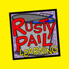 Rusty Pail by Linda Kirby