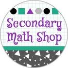 Secondary Math Shop