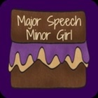 Speech Therapy Major Speech Minor Girl